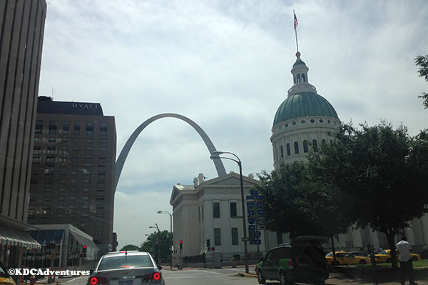 Trek to the Midwest: Gateway Arch