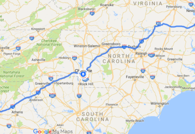 3200 Miles in 32 Days: Part 5 – Georgia to Virginia