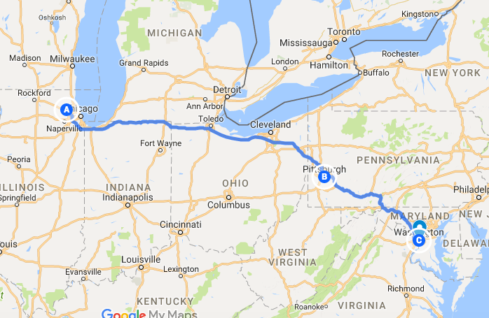 3200 Miles in 32 Days - Washington DC